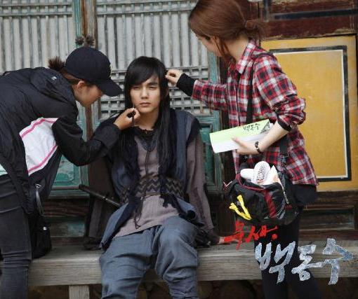 behind the scene warrior baek dong soo